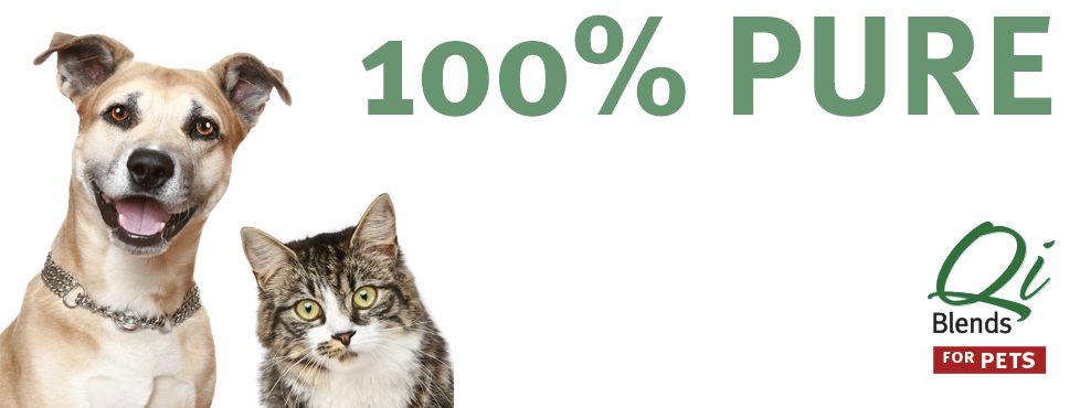 Qi Blends home slide - 100% Pure